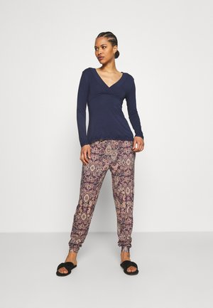 NURSING PAISLEY UNISEX - Pyjamas - dark denim