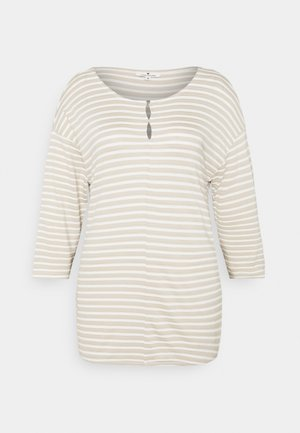 STRUCTURE - Long sleeved top - beige