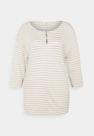 STRUCTURE - Pitkähihainen paita - beige