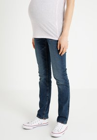 Noppies - REGULAR BEAU AUTHENTIC  - Straight leg jeans - authentic blue - 0