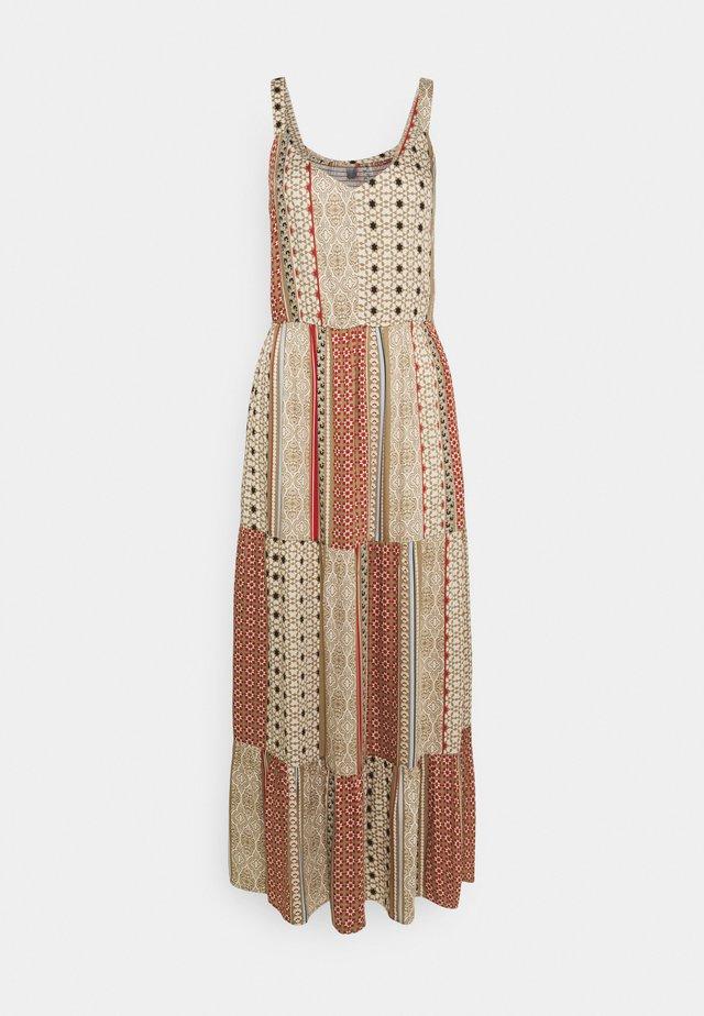 MOURITZA DRESS - Maxi-jurk - elmwood
