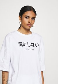 Even&Odd - T-shirt imprimé - white - 3