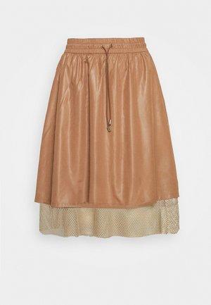 KAJSA SKIRT - Spódnica trapezowa - thrush