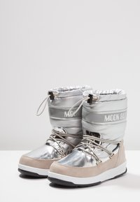 Moon Boot - GIRL SOFT WP - Winter boots - silver - 3