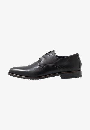 CORE LACE UP SHOE - Elegantní šněrovací boty - black