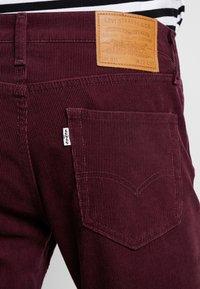 Levi's® - 511™ SLIM FIT - Trousers - winetasting warp - 5