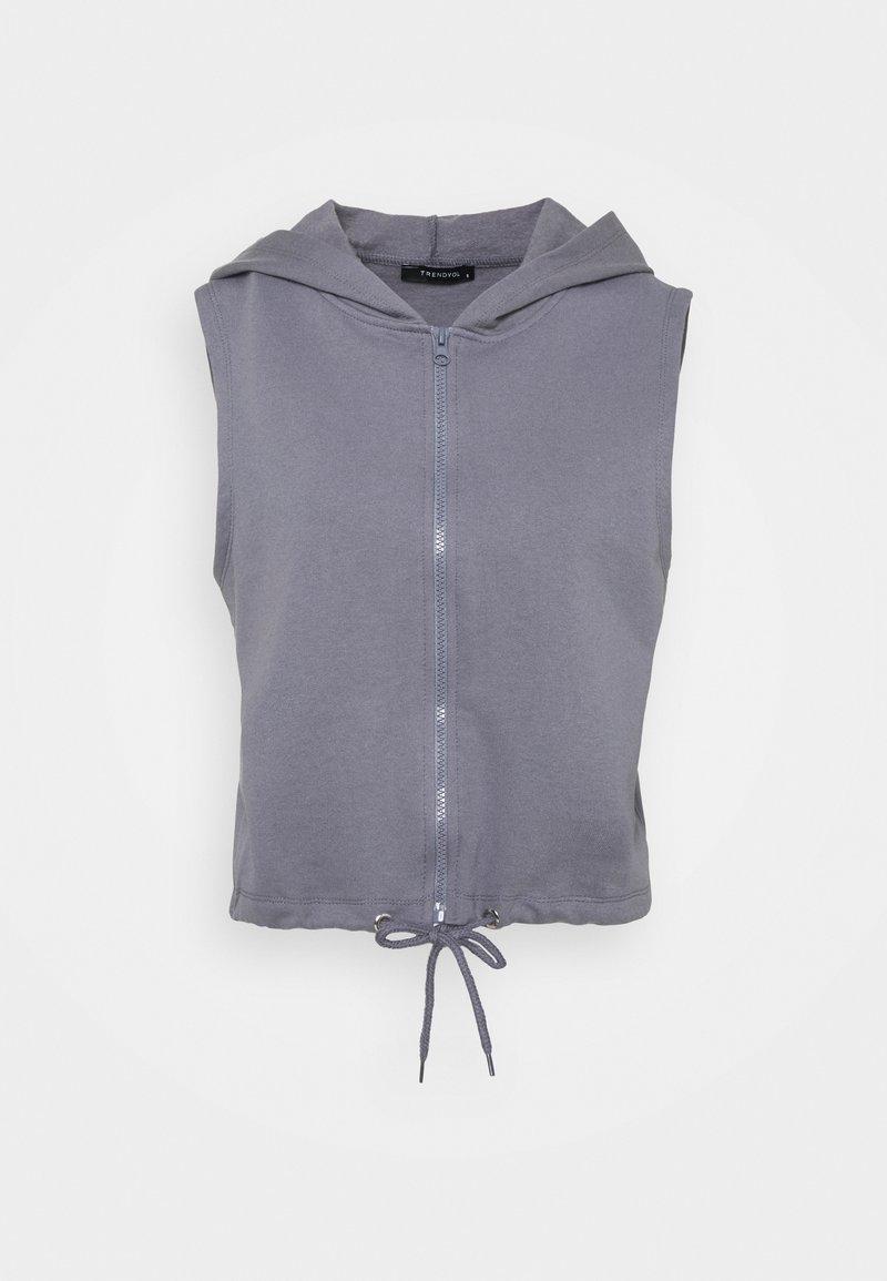 Trendyol - Waistcoat - anthracite