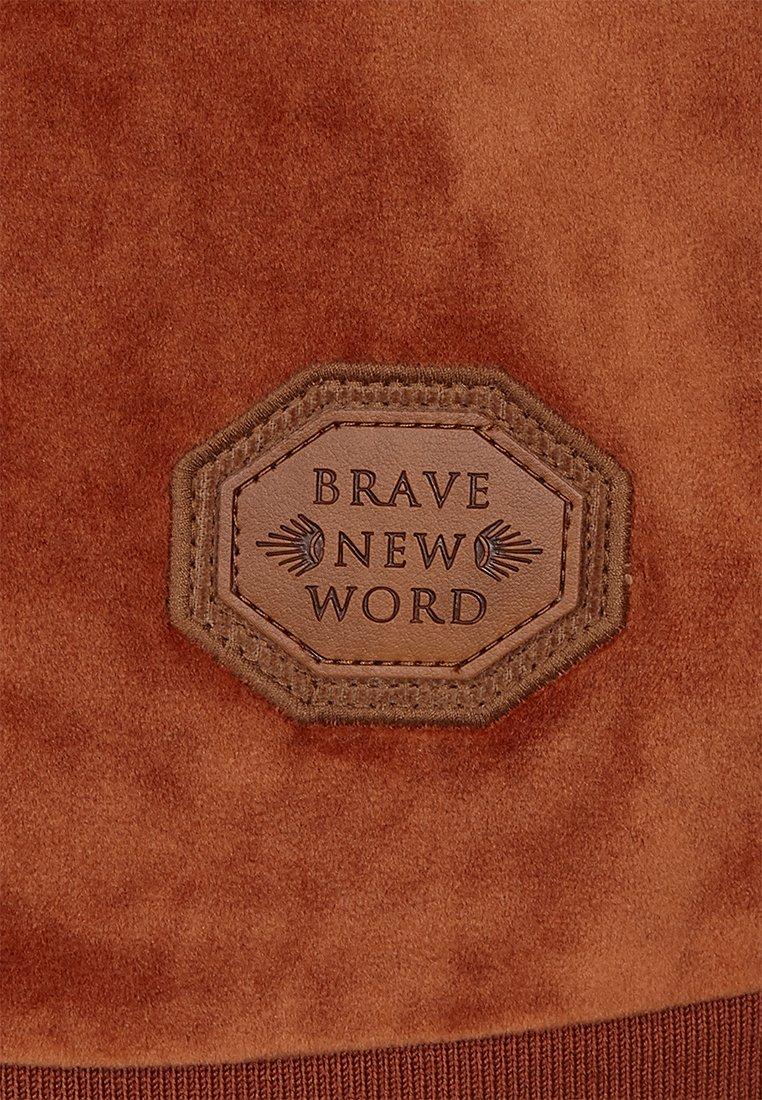 Naketano veste en sweat zippée - copper