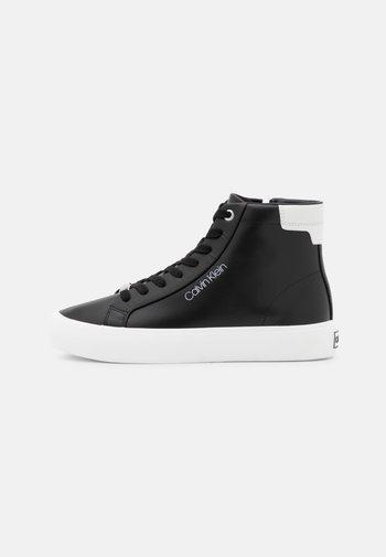TOP - Sneakers alte - black/white