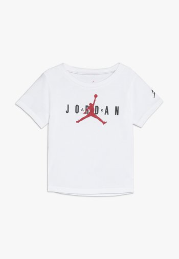 BRAND TEE  - Print T-shirt - white