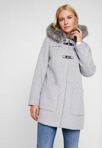 Esprit Collection - MIX COAT - Kurzmantel - light grey - 0