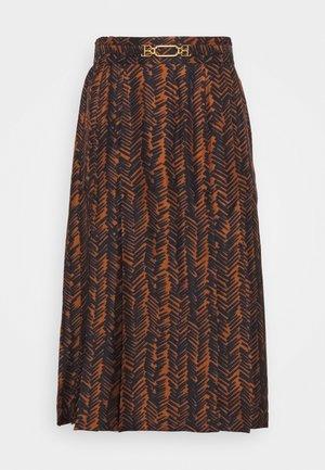PRINT SKIRT - A-line skirt - multiblack