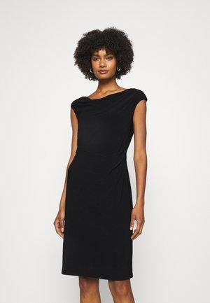 VARELLA CAP SLEEVE DAY DRESS - Tubino - black