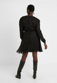 Glamorous Curve - Day dress - black/gold - 3