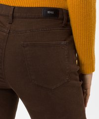 BRAX - STYLE MARY - Slim fit jeans - brown - 4