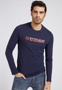 Guess - Long sleeved top - blau - 0