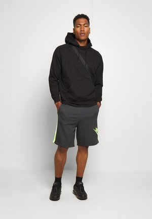 FESTIVAL ALUMNI - Shorts - dark smoke grey/volt/volt