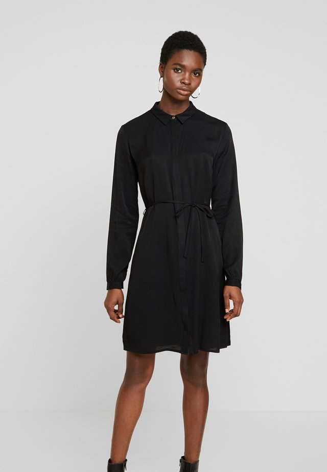 ANASTACIA DRESS - Shirt dress - black