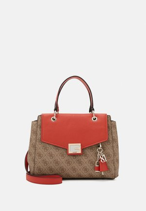 VALY SMALL GIRLFRIEND SATCHEL - Across body bag - rust