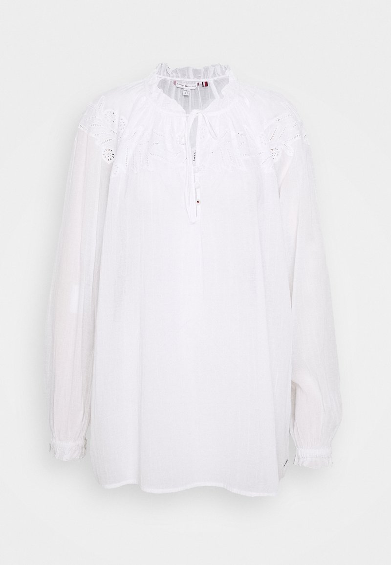Tommy Hilfiger - RUTH BLOUSE - Blouse - optic white