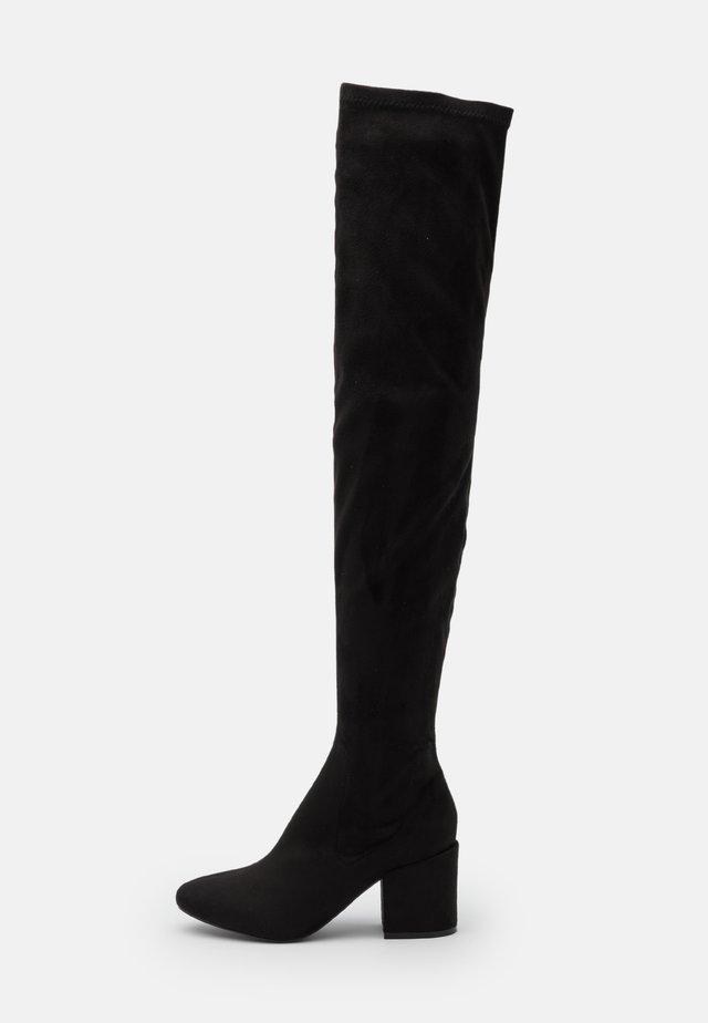 KOLA  - Over-the-knee boots - black