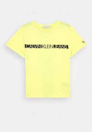 HERO LOGO - Basic T-shirt - yellow