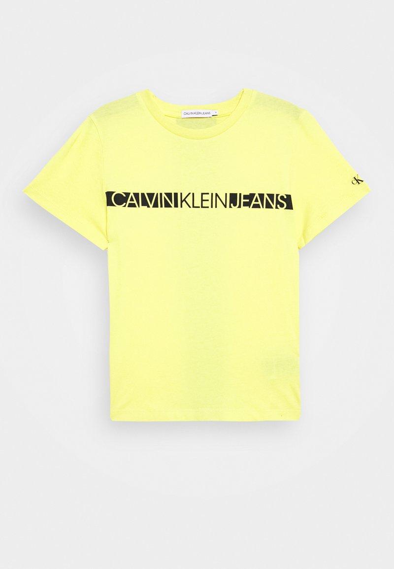 Calvin Klein Jeans - HERO LOGO - T-paita - yellow