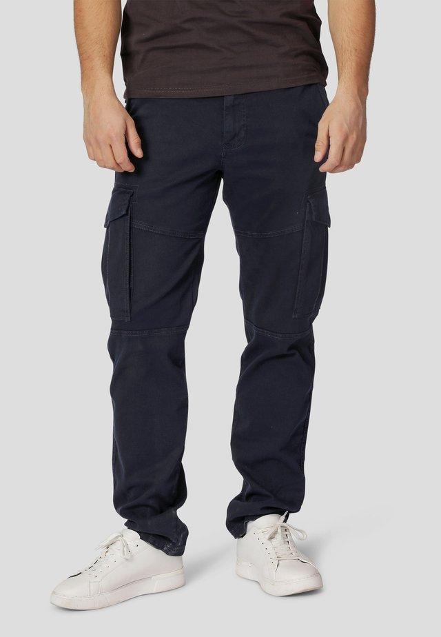 Cargo trousers - ultra dark navy