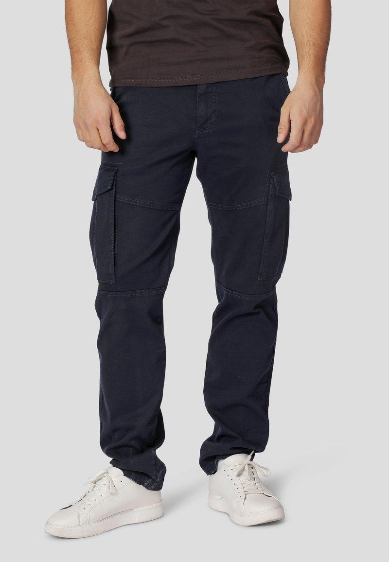 MARCUS - Cargo trousers - ultra dark navy