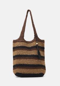 Seafolly - CARRIED AWAY STRIPE BEACH BAG - Accessoire de plage - bronze - 0