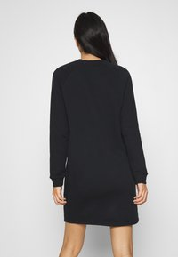 Even&Odd - BASIC - Sweat mini dress - Day dress - black - 2
