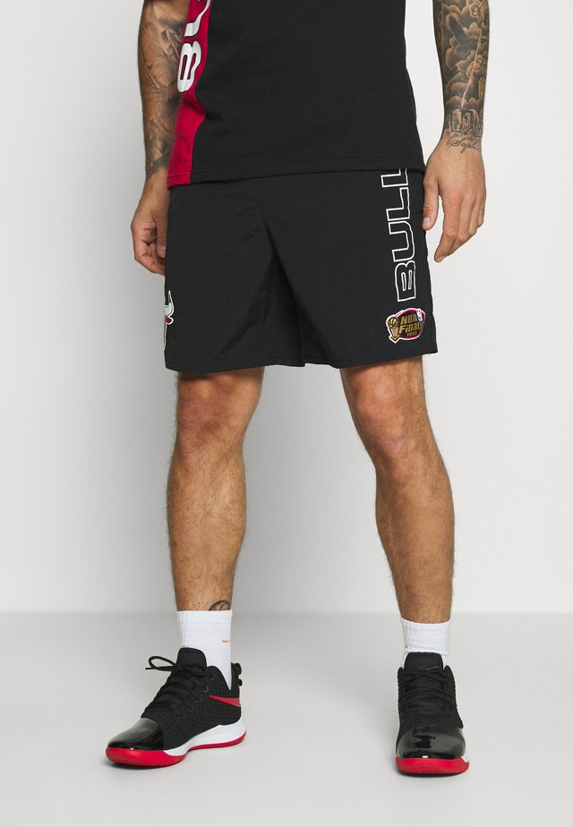 NBA CHICAGO BULLS SHORT - Sports shorts - black