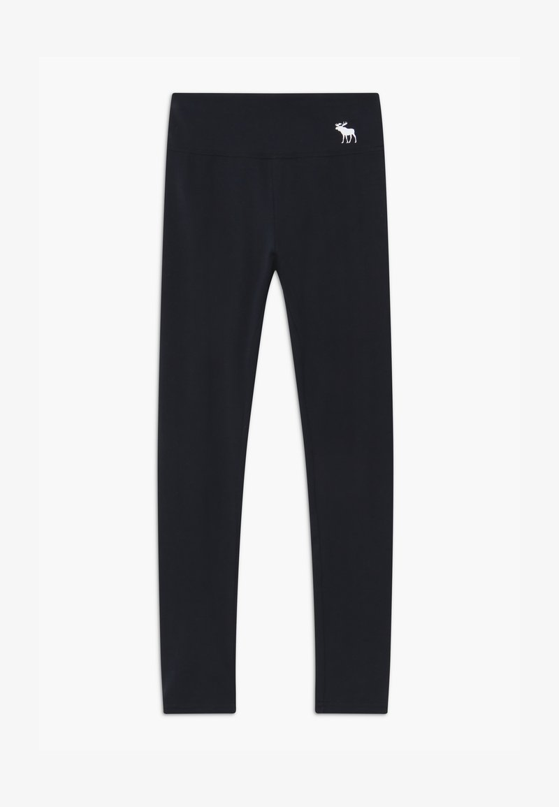 Abercrombie & Fitch - BASIC - Leggings - Trousers - black