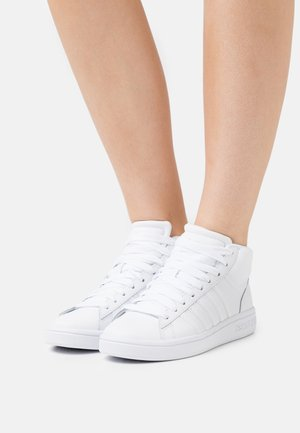 COURT WINSTON MID - Sneakers high - white