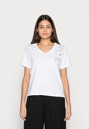 FLORAL - T-shirt print - white