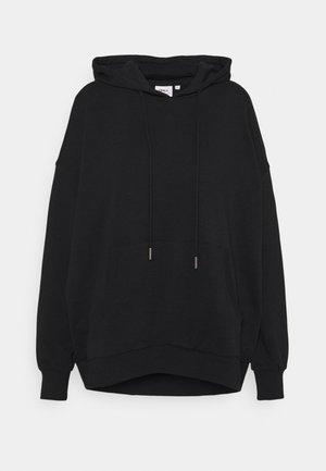 ONLTENNA LIFE OVERSIZE HOOD - Sweatshirt - black