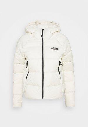 HYALITE HOODIE - Down jacket - vintage white