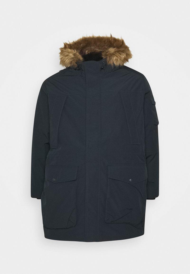 Jack & Jones - JJASHER - Zimní kabát - dark navy