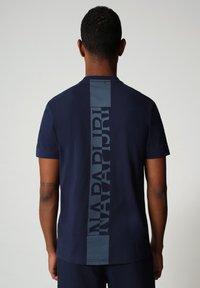 Napapijri - S SURF - Print T-shirt - medieval blue - 1