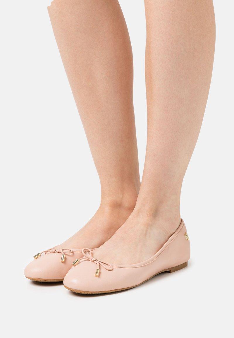 Lauren Ralph Lauren - JAYNA - Baleriny - ballet pink