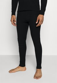 ODLO - LONG ACTIVE WARM SET - Dlouhé spodní prádlo - black - 5