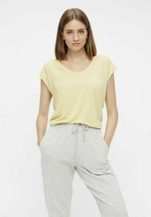 Basic T-shirt - pale banana