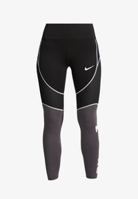 Nike Performance - ALL IN - Tights - black/thunder grey/white - 4