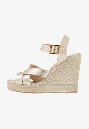 SELANAM - High heeled sandals - gold