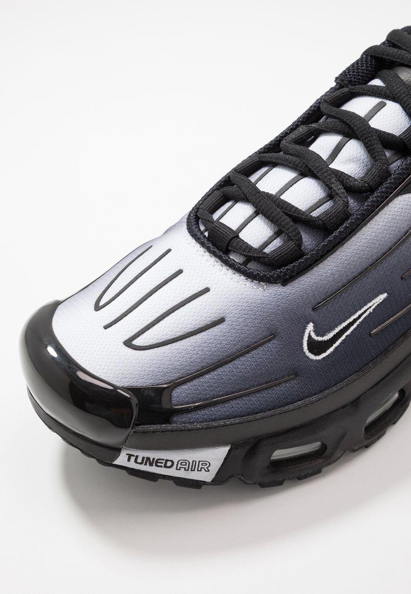 Opinión marcador Humano  Nike Sportswear AIR MAX PLUS III - Baskets basses - black/white/noir -  ZALANDO.FR