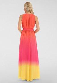 Apart - Robe longue - orangerot-pink-gelb - 2