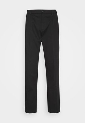 LINCOLN WIDE TROUSERS - Trousers - black