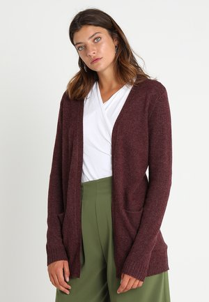 VIRIL - Strickjacke - winetasting melange