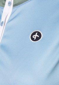 Cross Sportswear - SALLY SOLID - Polotričko - forever blue - 4