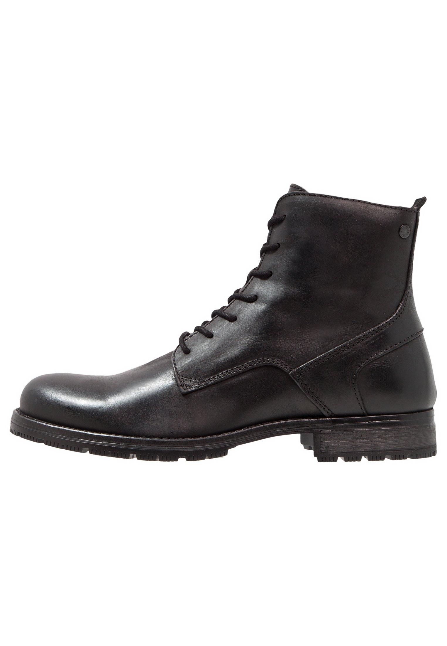 Bottes Classiques Homme Jack /& Jones Jfworca Leather Black
